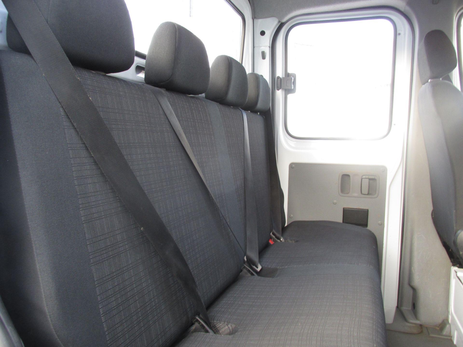 2015 Mercedes Sprinter 313 CDI - CREW  CAB 6 SEATER - DROPSIDE - TIPPER - SALE PRICE   (152D16906) Image 9