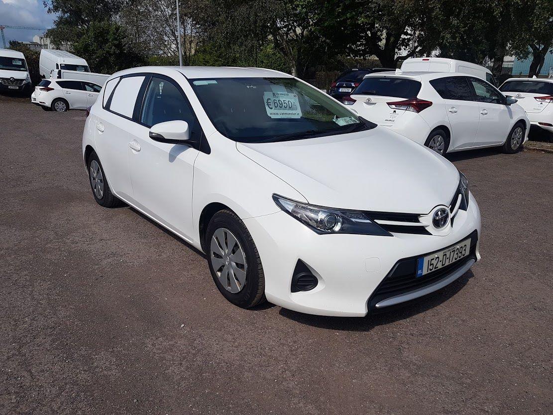 2015 Toyota Auris 1.4D4D Terra VAN 4DR (152D17393)