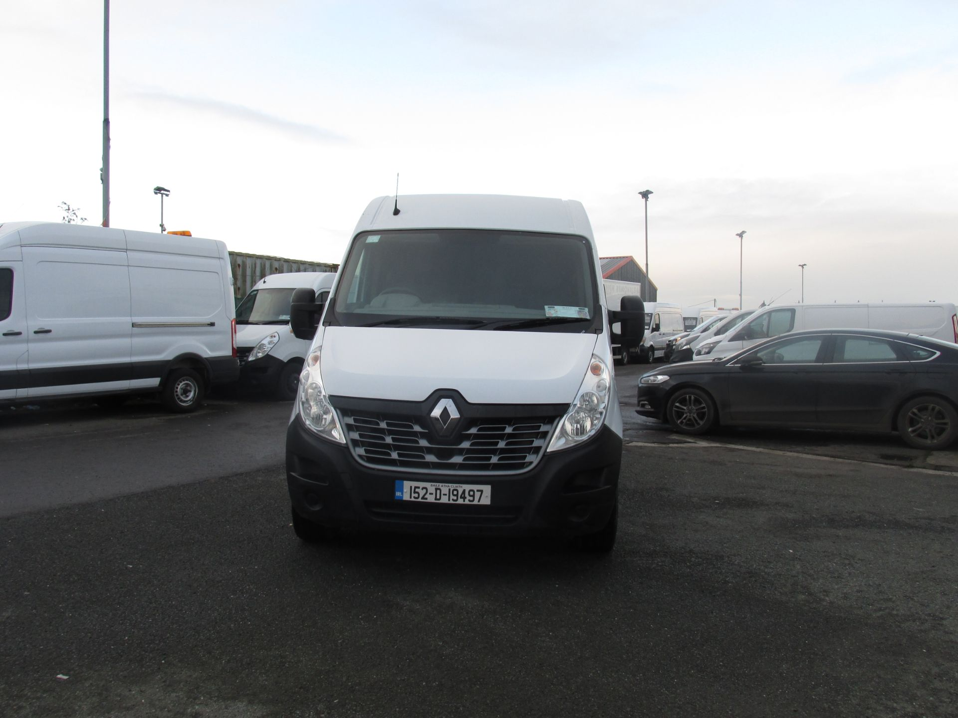2015 Renault Master III FWD LM35 DCI 125 Business 3DR (152D19497) Image 8