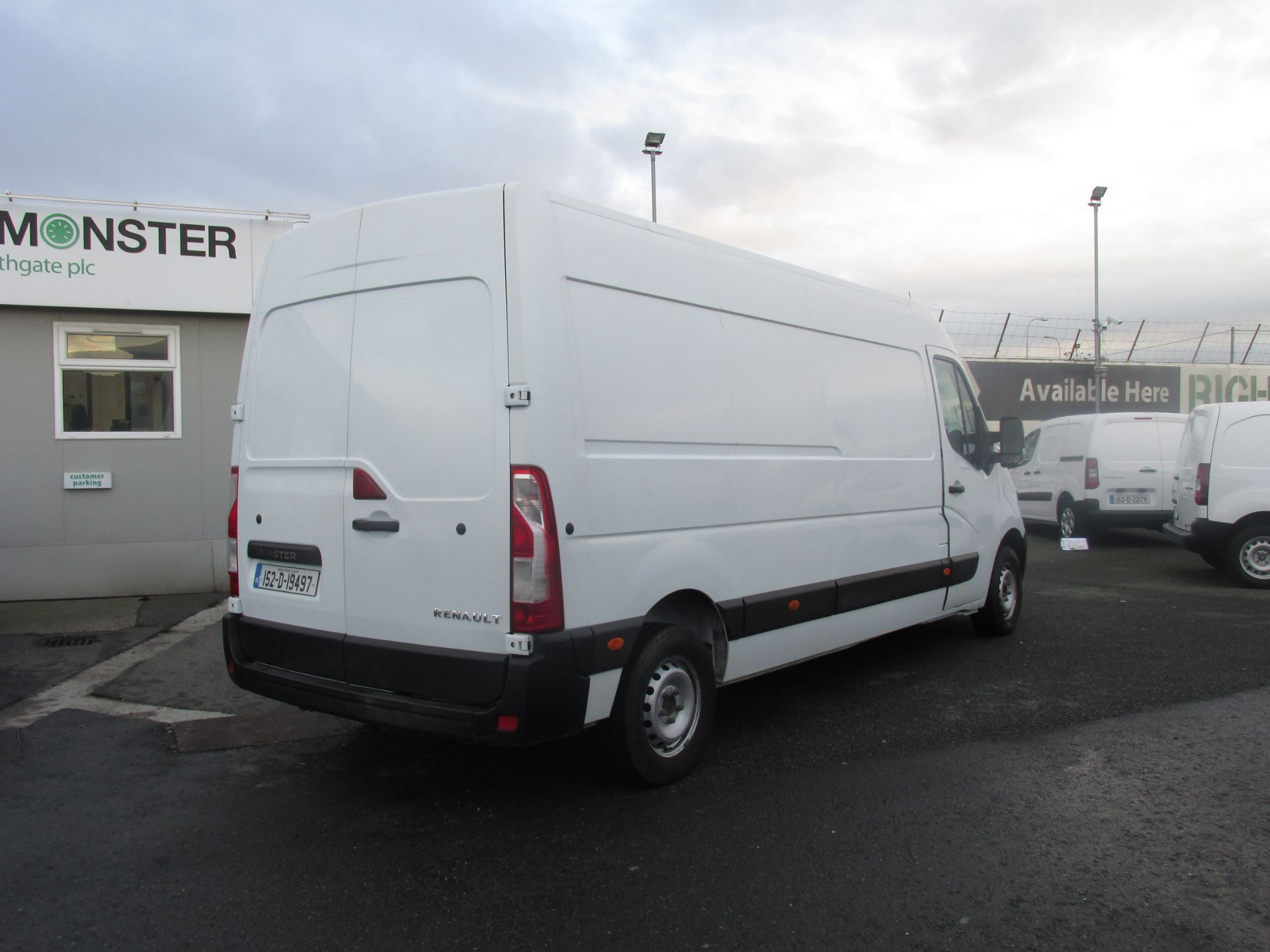 2015 Renault Master III FWD LM35 DCI 125 Business 3DR (152D19497) Image 3