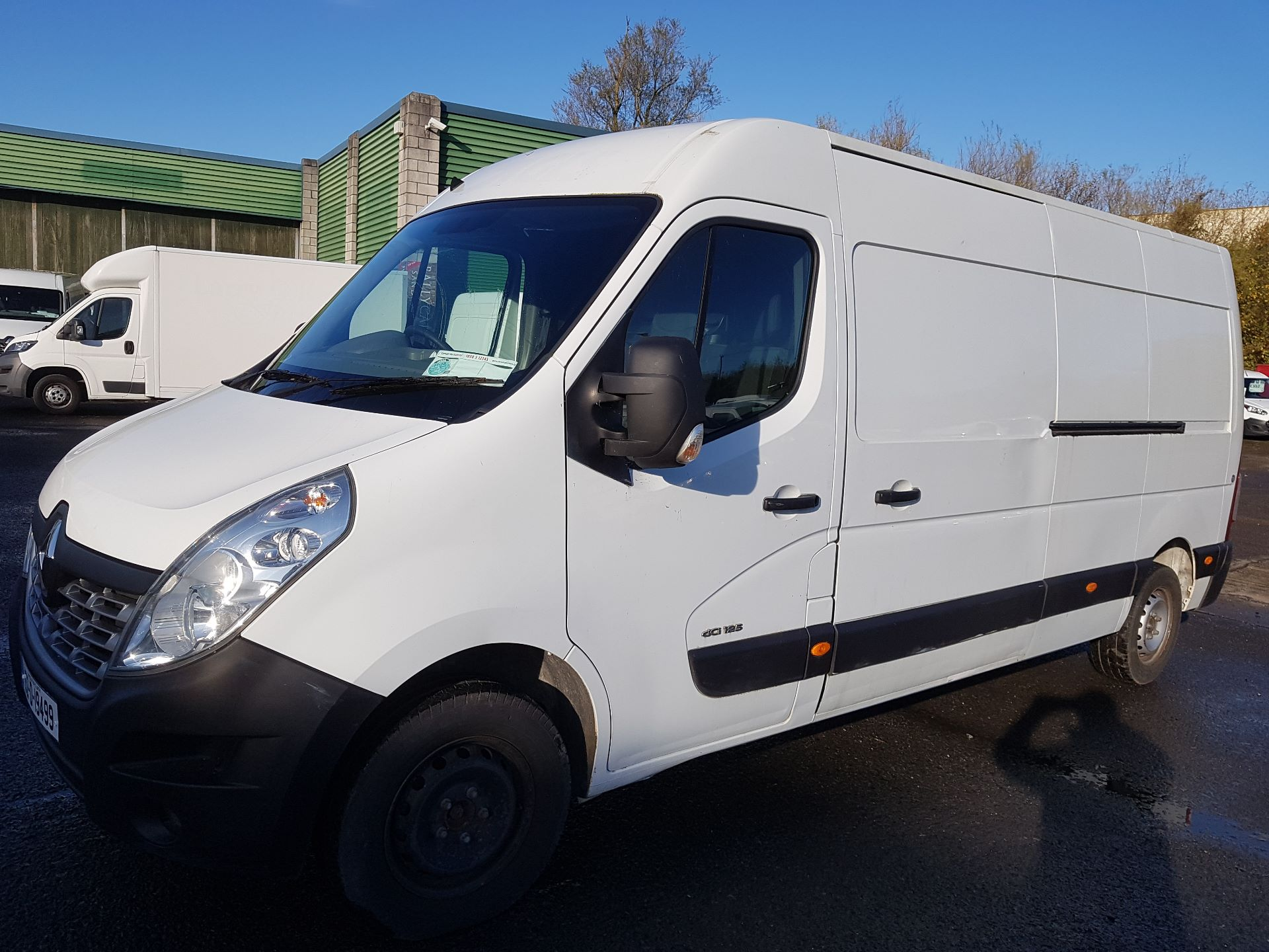 2015 Renault Master III FWD LM35 DCI 125 Business 3DR (152D19499)