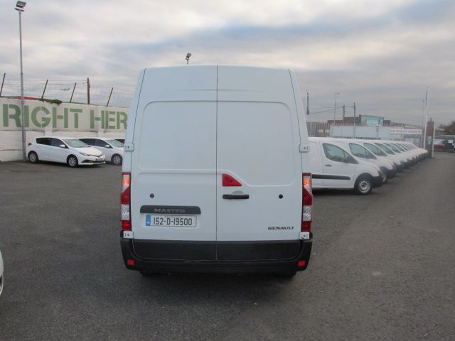 2015 Renault Master III FWD LM35 DCI 125 Business 3DR (152D19500) Image 4