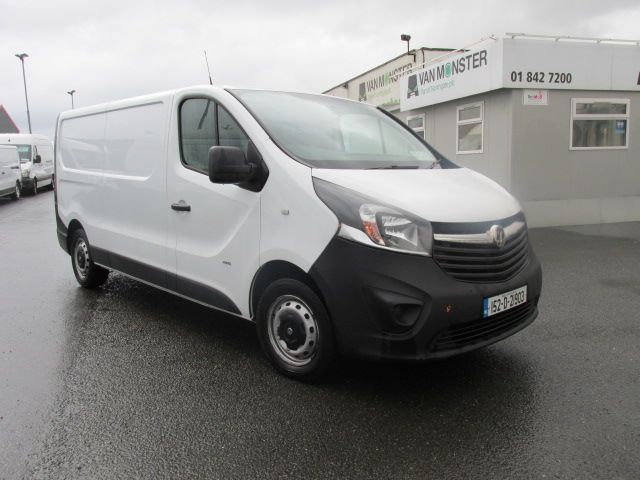 2015 Vauxhall Vivaro 2900 L2H1 CDTI P/V - LWB MODEL - Extras include Tow bar - Ply lining etc . (152D21903)