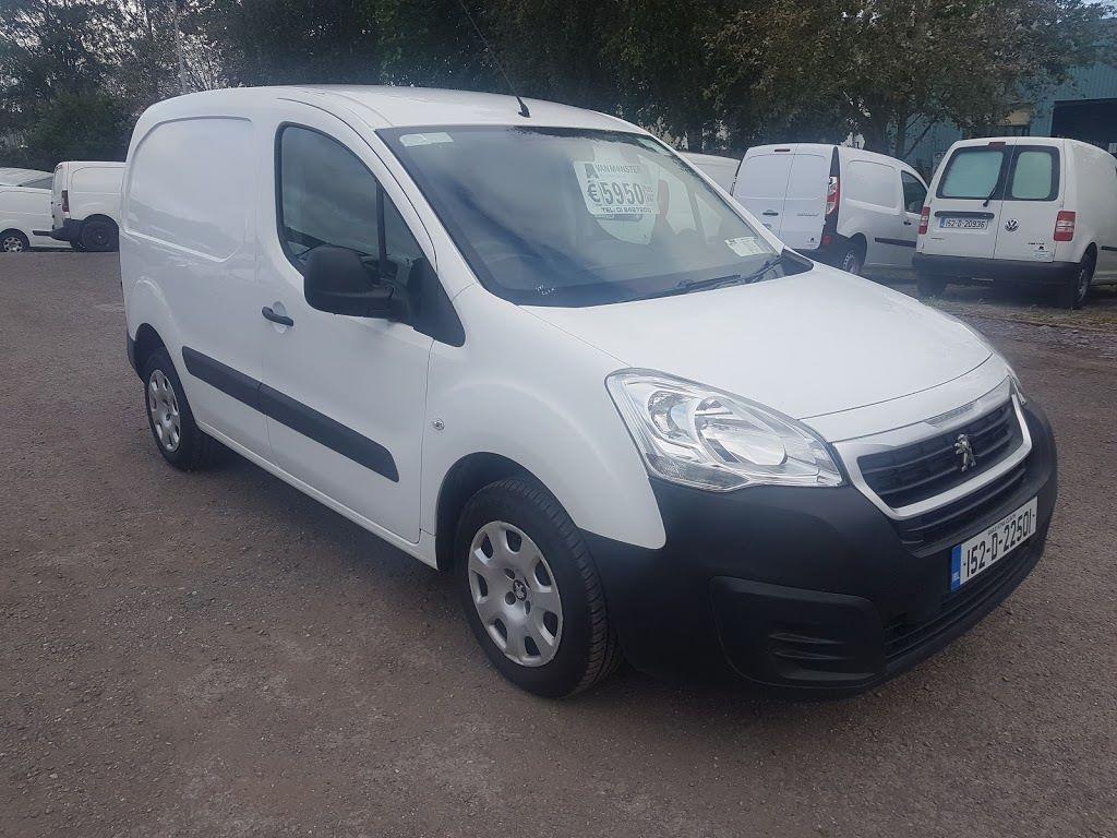 2015 Peugeot Partner HDI S L1 850 (152D22501)