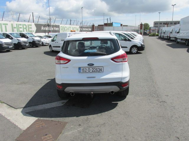 2015 Ford Kuga Commercial Zetec 2-seat 2.0 120PS FWD 4DR (152D22634) Image 4