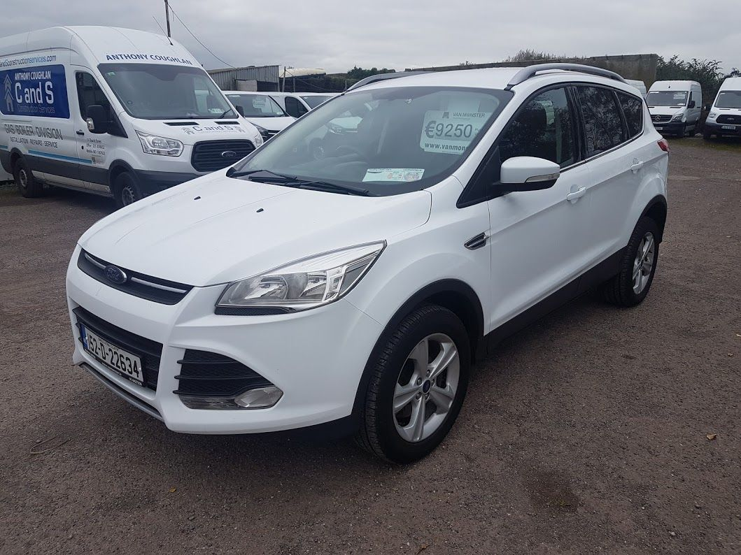 2015 Ford Kuga Commercial Zetec 2-seat 2.0 120PS FWD 4DR (152D22634) Image 17