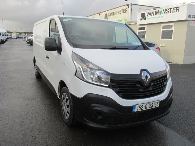 2015 Renault Trafic LL29 DCI 115 Business Panel VA (152D23156)