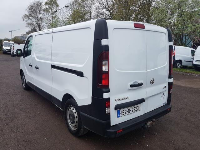 2015 Vauxhall Vivaro 2900 L2H1 CDTI P/V (152D23231) Image 11
