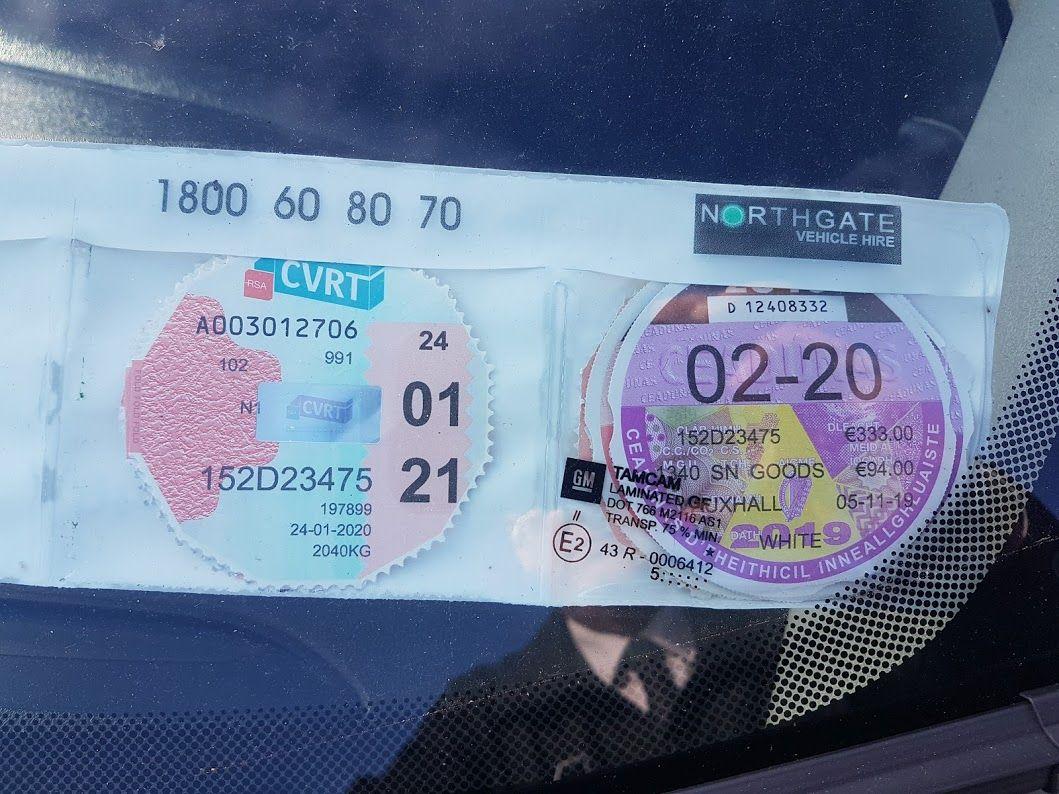 2015 Vauxhall Combo 2000 L1H1 CDTI (152D23475) Image 3