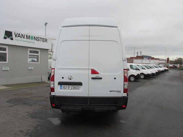 2015 Vauxhall Movano R3500 L3H3 P/V CDTI (152D23603) Image 4