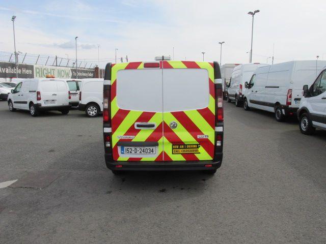 2015 Vauxhall Vivaro 2900 L2H1 CDTI P/V (152D24034) Image 6