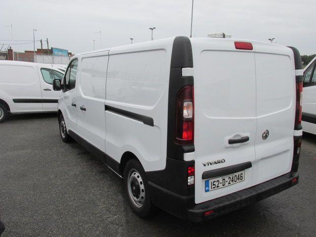 2015 Vauxhall Vivaro 2900 L2H1 CDTI P/V (152D24046) Image 6