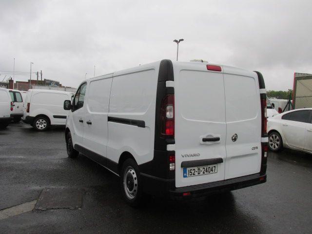2015 Vauxhall Vivaro 2900 L2H1 CDTI P/V (152D24047) Image 5