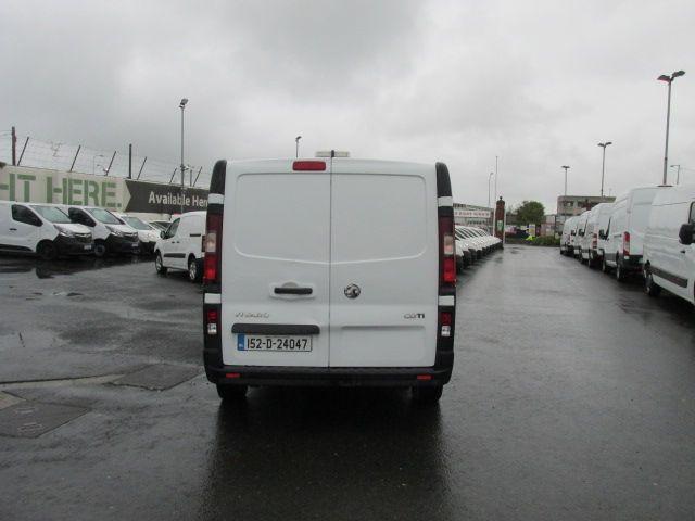 2015 Vauxhall Vivaro 2900 L2H1 CDTI P/V (152D24047) Image 4
