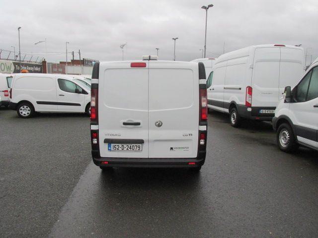 2015 Vauxhall Vivaro 2900 L2H1 CDTI P/V (152D24079) Image 6