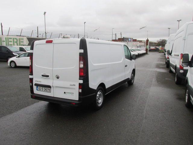 2015 Vauxhall Vivaro 2900 L2H1 CDTI P/V (152D24079) Image 7