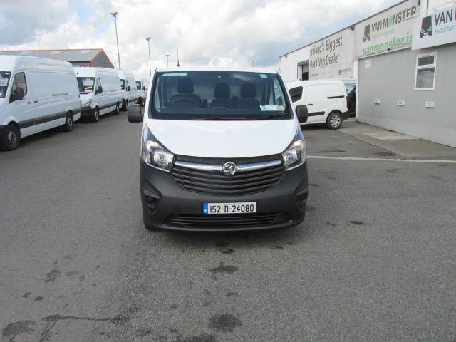 2015 Vauxhall Vivaro 2900 L2H1 CDTI P/V (152D24080) Image 2