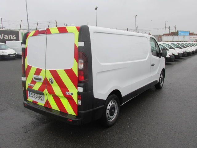 2015 Vauxhall Vivaro 2900 L2H1 CDTI P/V (152D24082) Image 3
