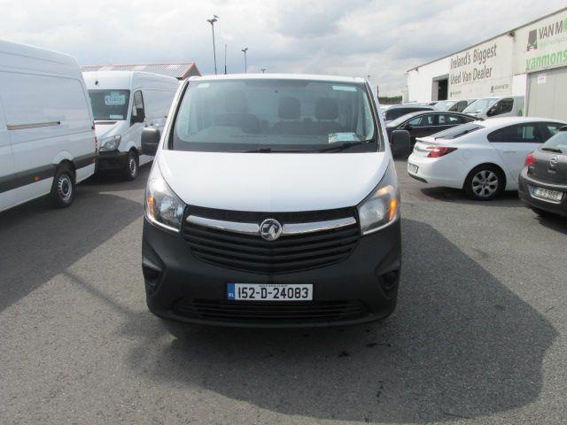 2015 Vauxhall Vivaro 2900 L2H1 CDTI P/V (152D24083) Image 2