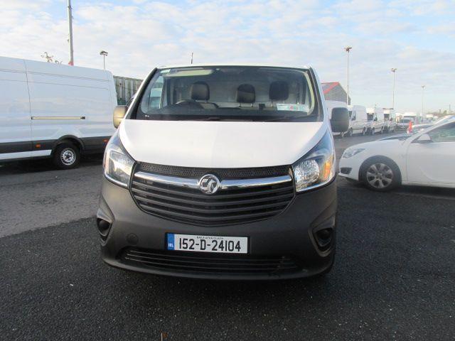 2015 Vauxhall Vivaro 2900 L2H1 CDTI P/V (152D24104) Image 8