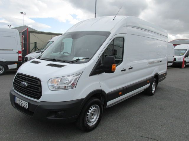 2015 Ford Transit 350 H/R P/V - H/ROOF -  LWB  JUMBO  MODEL - OVER 150 VANS TO VIEW  (152D24125) Image 9