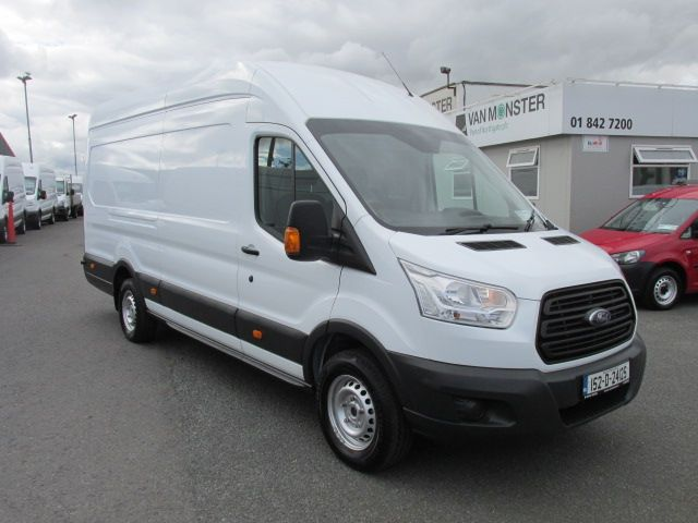 2015 Ford Transit 350 H/R P/V - H/ROOF -  LWB  JUMBO  MODEL - OVER 150 VANS TO VIEW  (152D24125) Image 1