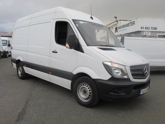 2015 Mercedes Sprinter 313 CDI MWB  H/ROOF - OVER A 100 VANS TO CHOOSE FROM IN VM SANTRY - (152D24183) Image 1