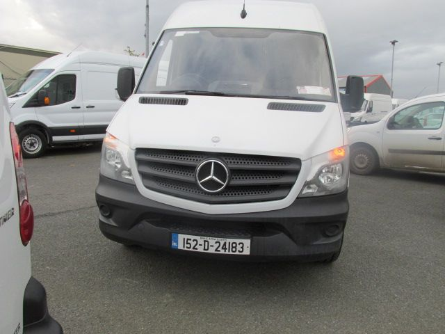 2015 Mercedes Sprinter 313 CDI MWB  H/ROOF - OVER A 100 VANS TO CHOOSE FROM IN VM SANTRY - (152D24183) Image 8