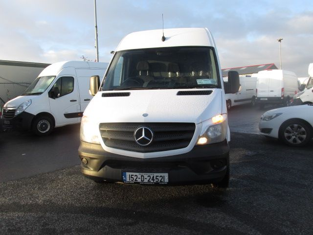 2015 Mercedes-Benz Sprinter 313 CDI - MWB - H/ROOF - LOW MILES - PLY LINED - BEACON - T/BAR   (152D24521) Image 8
