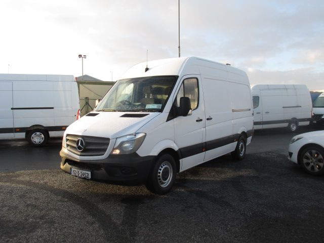 2015 Mercedes-Benz Sprinter 313 CDI - MWB - H/ROOF - LOW MILES - PLY LINED - BEACON - T/BAR   (152D24521) Image 7