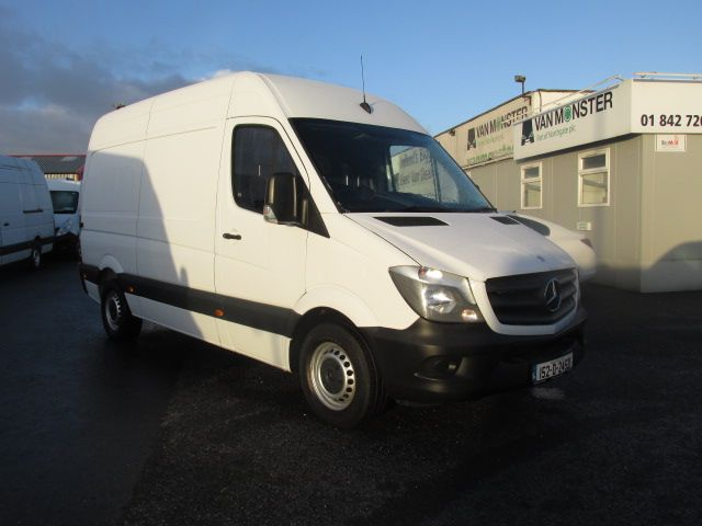 2015 Mercedes-Benz Sprinter 313 CDI - MWB - H/ROOF - LOW MILES - PLY LINED - BEACON - T/BAR   (152D24521)