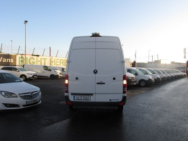 2015 Mercedes-Benz Sprinter 313 CDI - MWB - H/ROOF - LOW MILES - PLY LINED - BEACON - T/BAR   (152D24521) Image 4