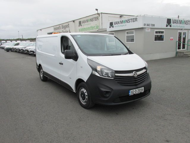 2015 Vauxhall Vivaro 2900 L2H1 CDTI P/V - Over 150 VANS TO VIEW AT VAN MONSTER  SANTRY - (152D29354) Image 1