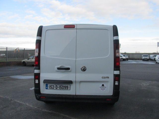 2015 Vauxhall Vivaro 2900 L2H1 CDTI P/V (152D15099) Image 6