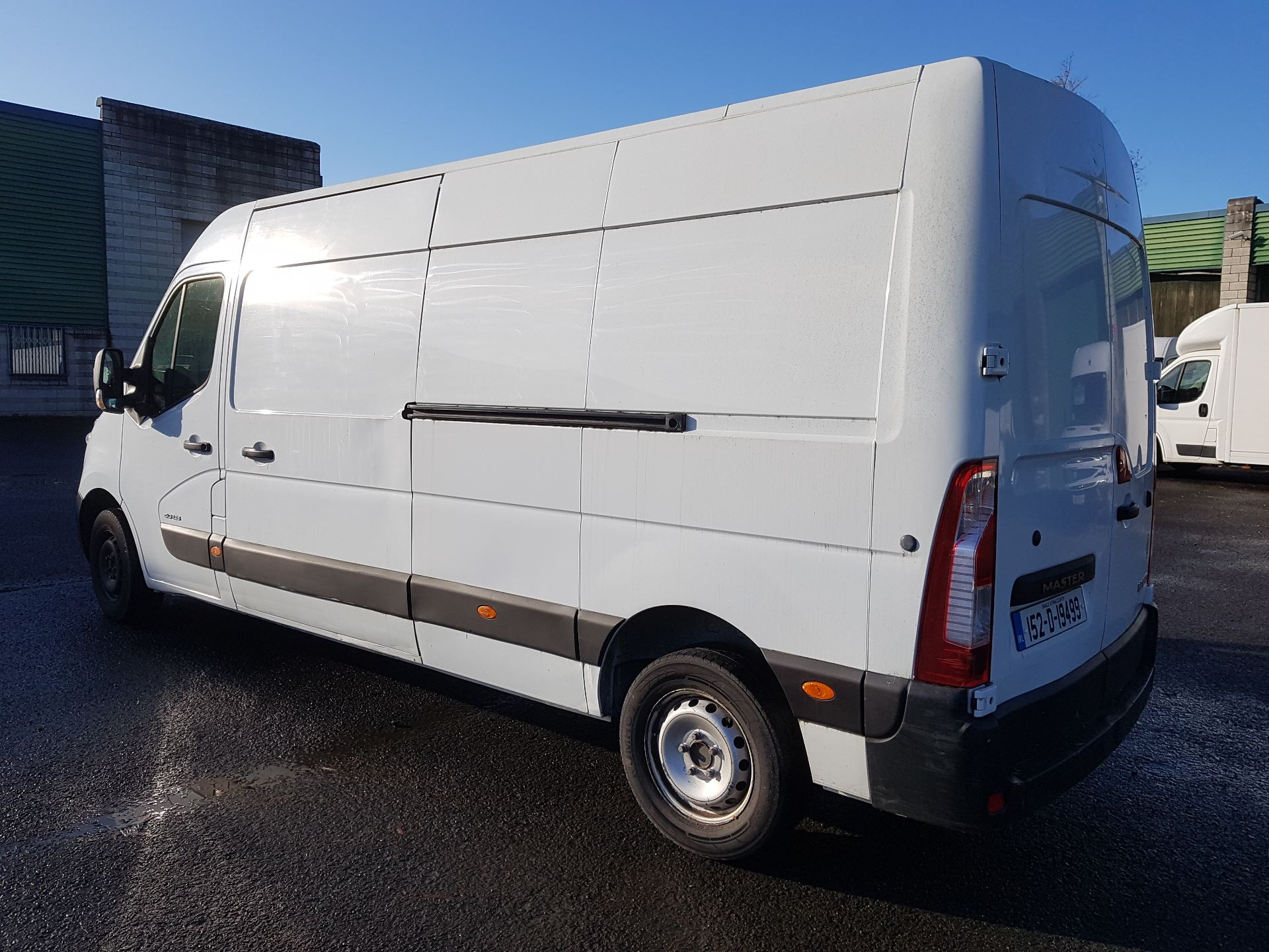 2015 Renault Master III FWD LM35 DCI 125 Business 3DR (152D19499) Image 4