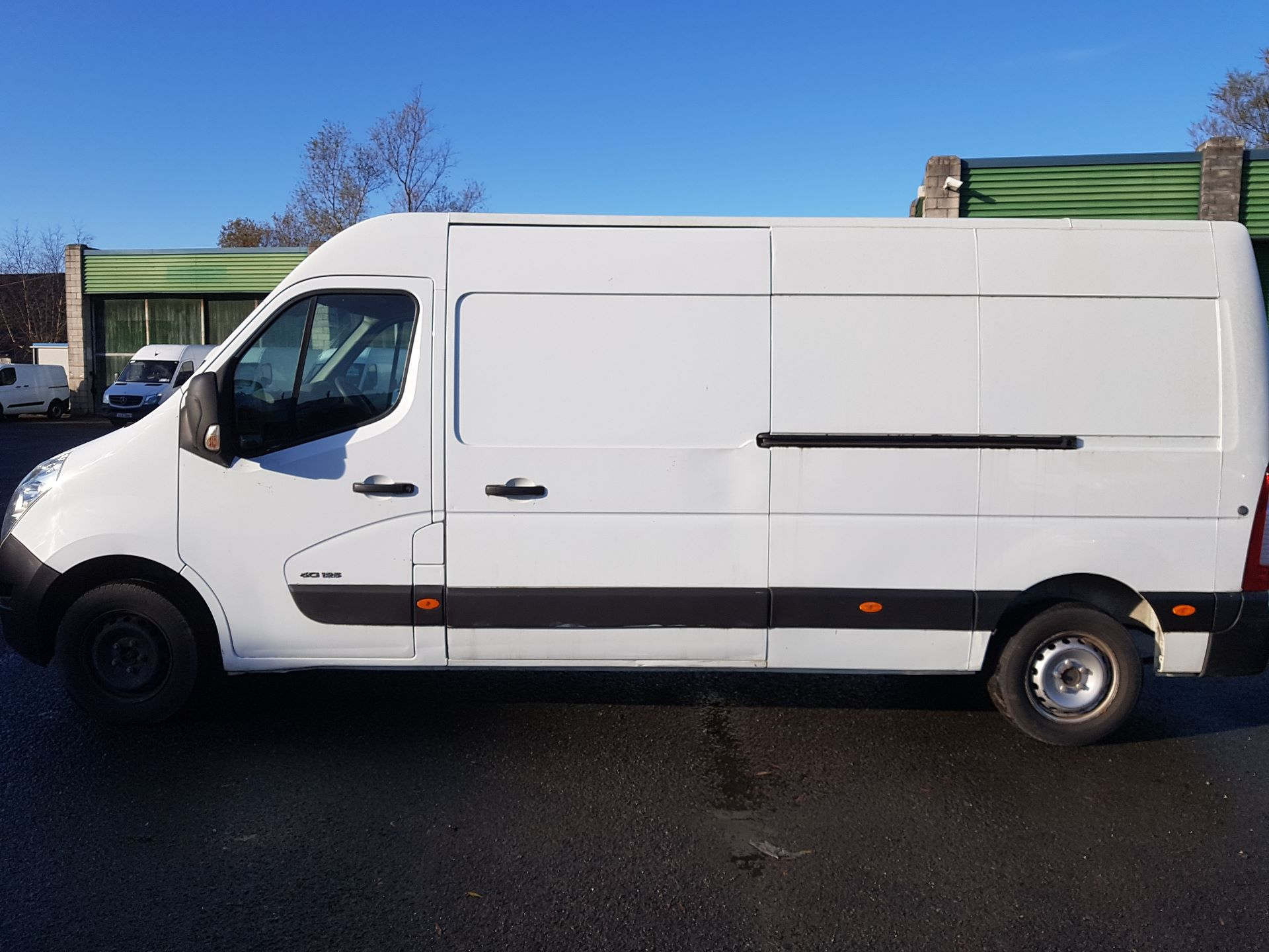 2015 Renault Master III FWD LM35 DCI 125 Business 3DR (152D19499) Image 3