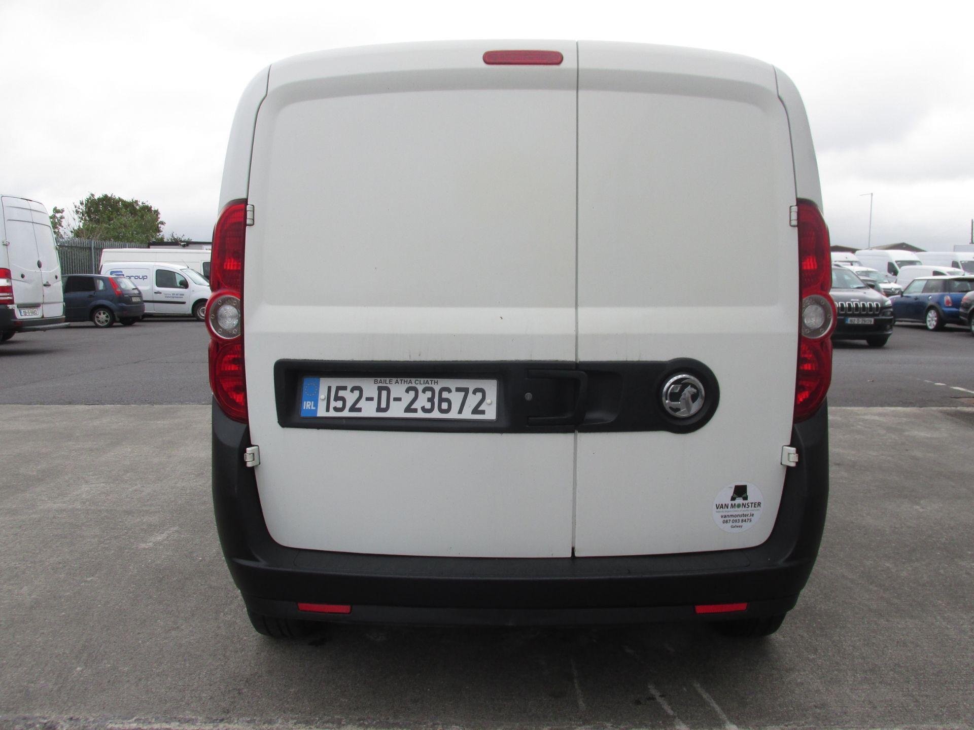 2015 Vauxhall Combo 2000 L1H1 CDTI (152D23672) Image 5