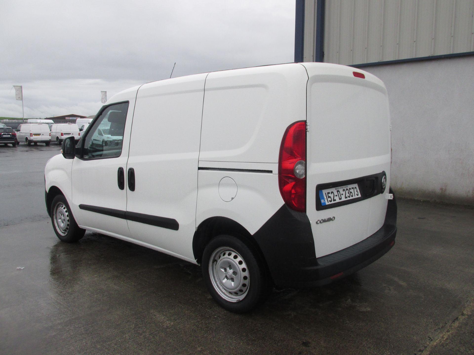 2015 Vauxhall Combo 2000 L1H1 CDTI (152D23673) Image 6