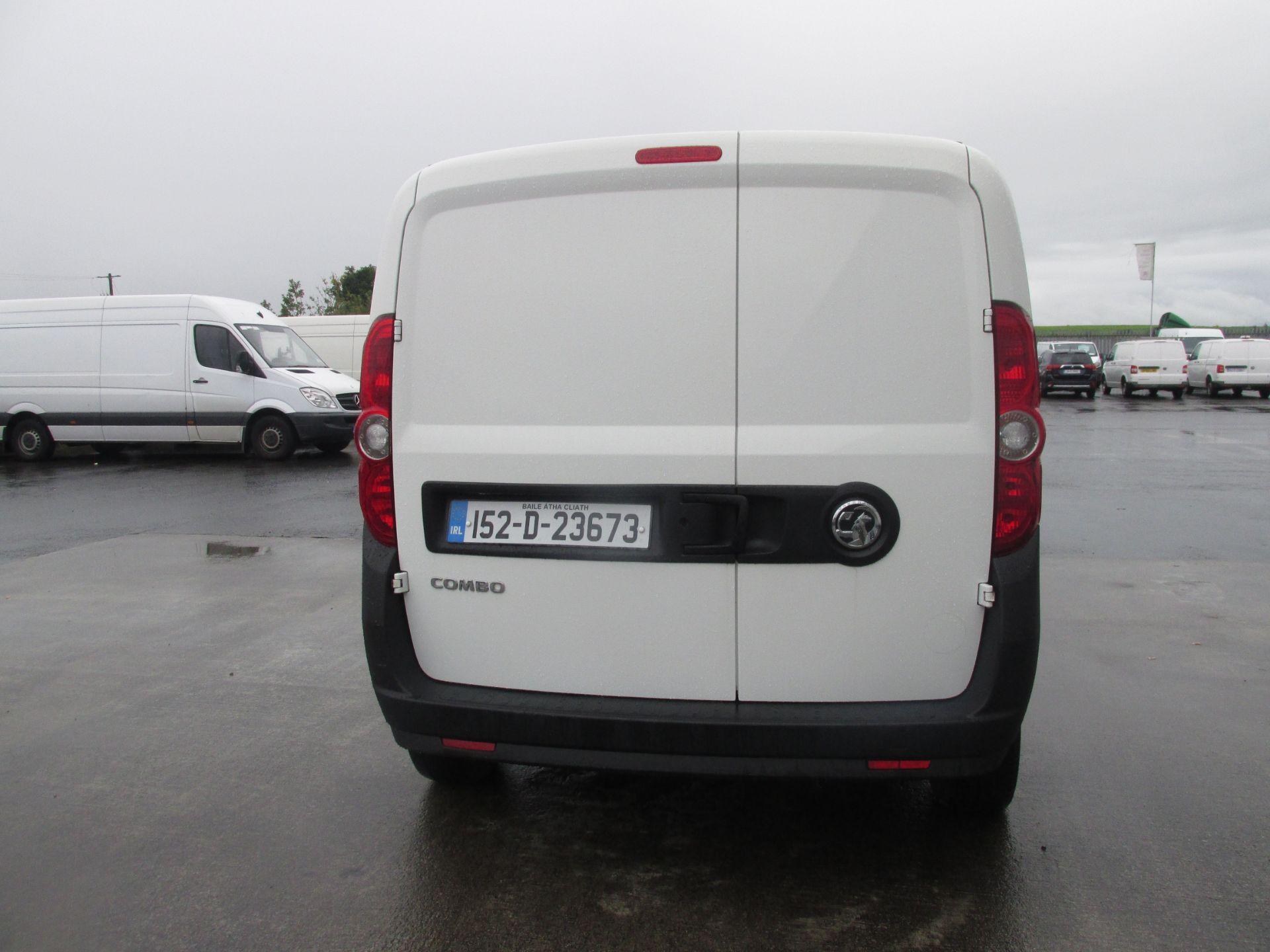 2015 Vauxhall Combo 2000 L1H1 CDTI (152D23673) Image 5