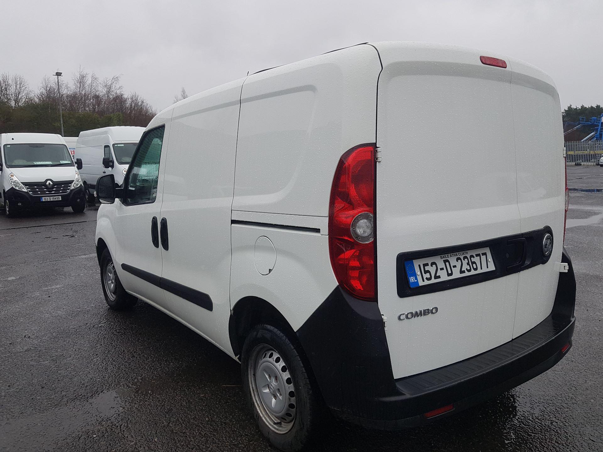 2015 Vauxhall Combo 2000 L1H1 CDTI (152D23677) Image 5