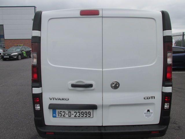 2015 Vauxhall Vivaro 2900 L2H1 CDTI P/V (152D23999) Image 5