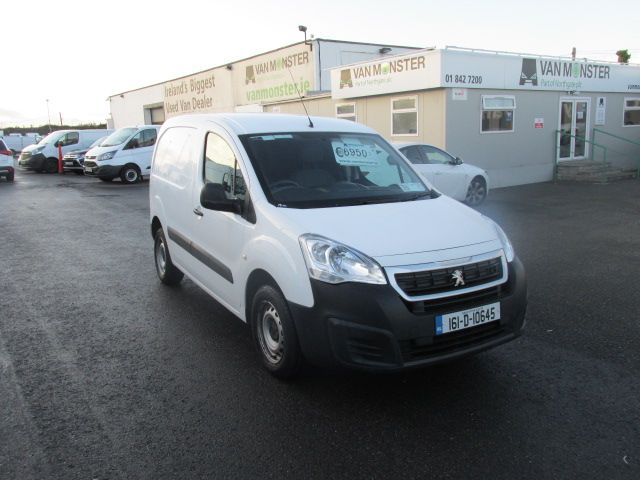 2016 Peugeot Partner Access 1.6 HDI #150 VANS TO VIEW IN SANTRY # (161D10645)