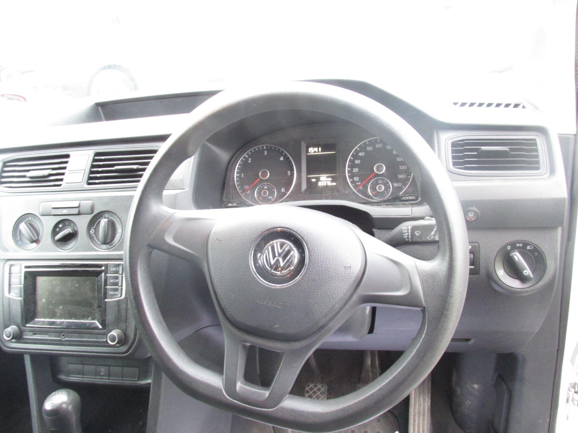 2016 Volkswagen Caddy C20 TDI STARTLINE (161D29836) Image 12