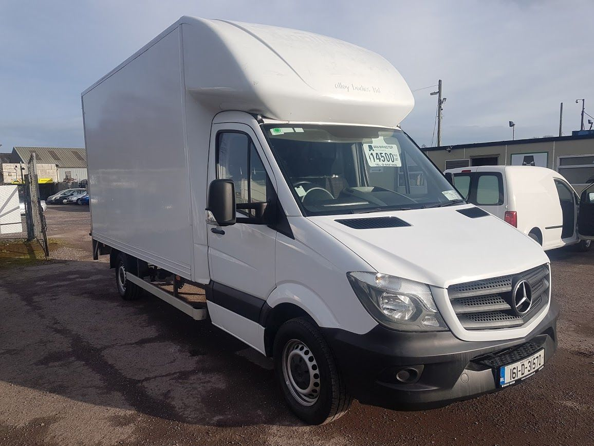 2016 Mercedes-Benz Sprinter 313 CDI LutonBox c/w Tail Lift. (161D31570)