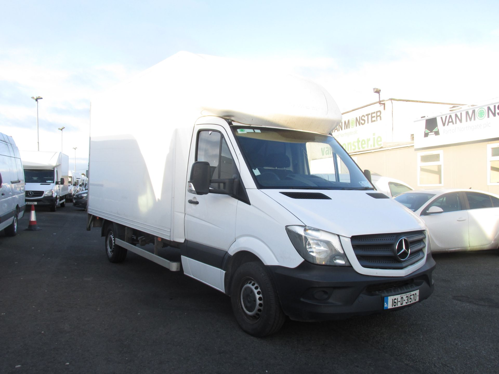 2016 Mercedes-Benz Sprinter 313 CDI - Luton Box & Tail Lift - HUGE VAN SELECTION AT VM  SANTRY - (161D31570)