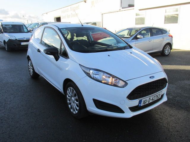 2016 Ford Fiesta BASE TDCI (161D42763)