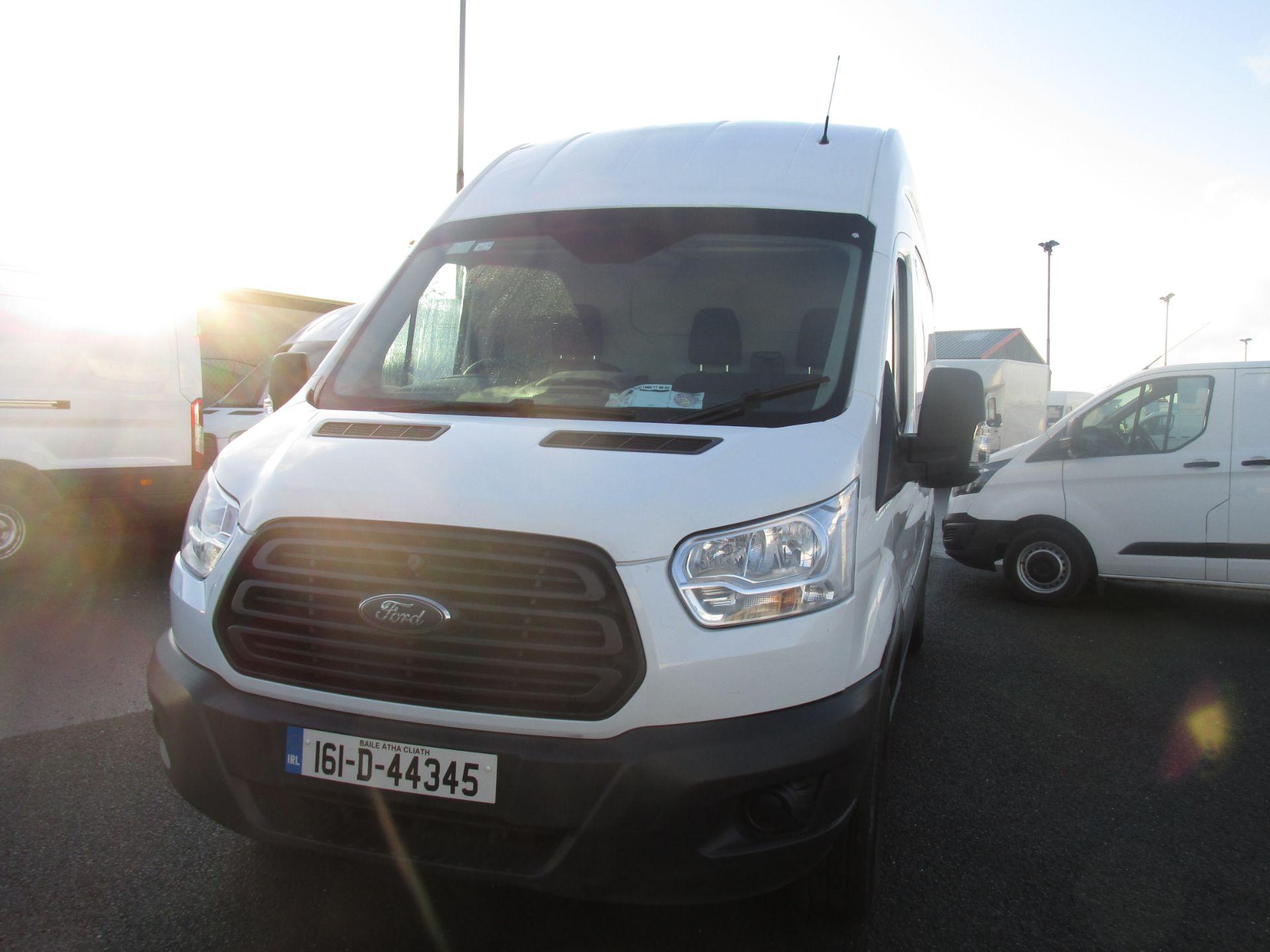 2016 Ford Transit 350 H/R P/V (161D44345) Image 7