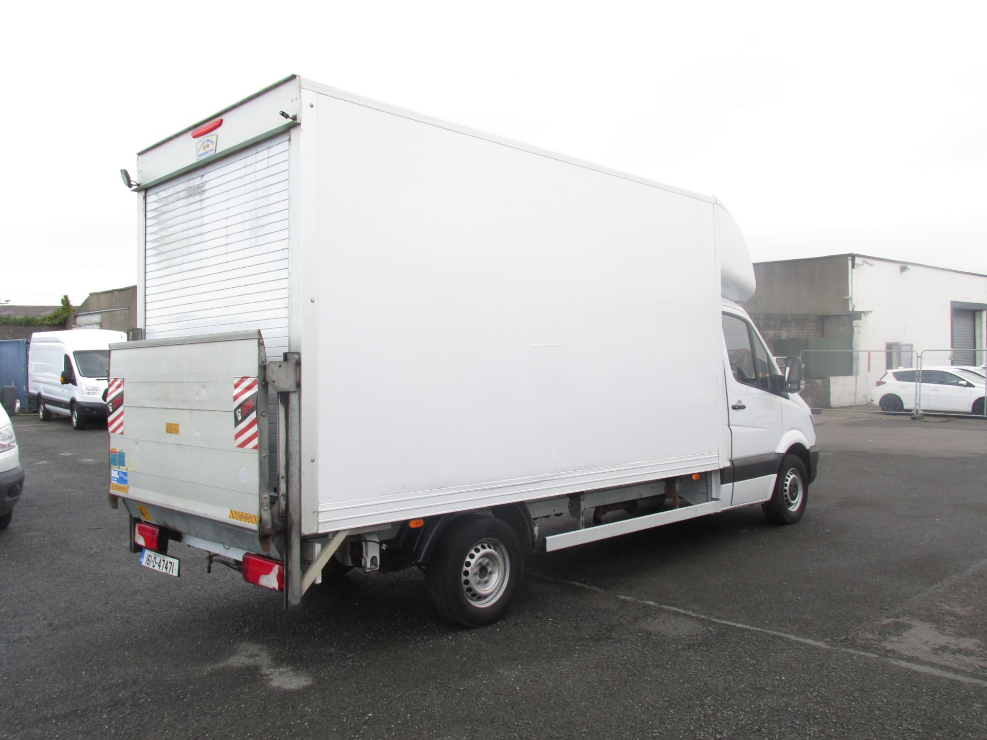 2016 Mercedes-Benz Sprinter 313 CDI Luton Body (161D47471) Image 7