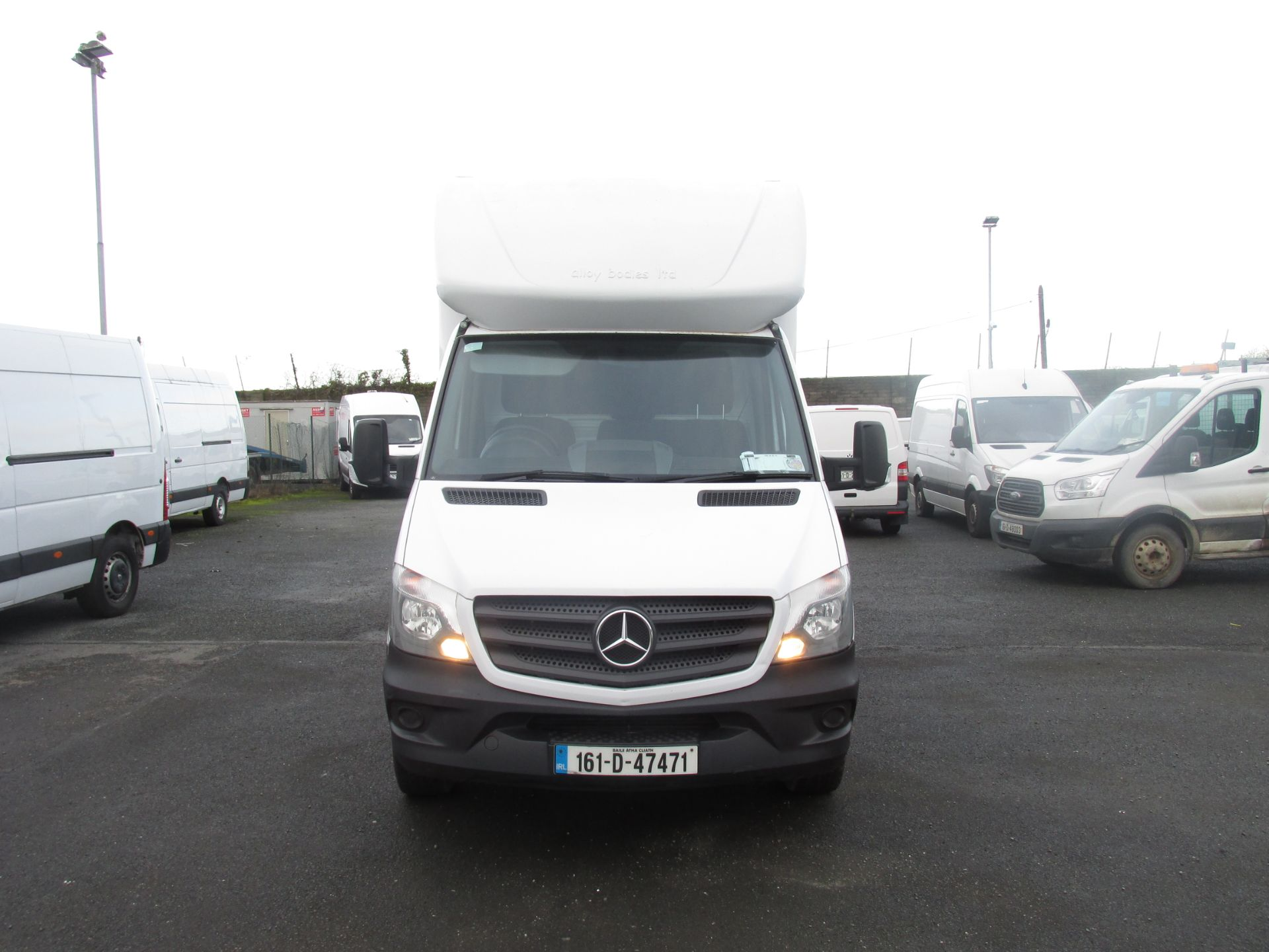 2016 Mercedes-Benz Sprinter 313 CDI Luton Body (161D47471) Image 2