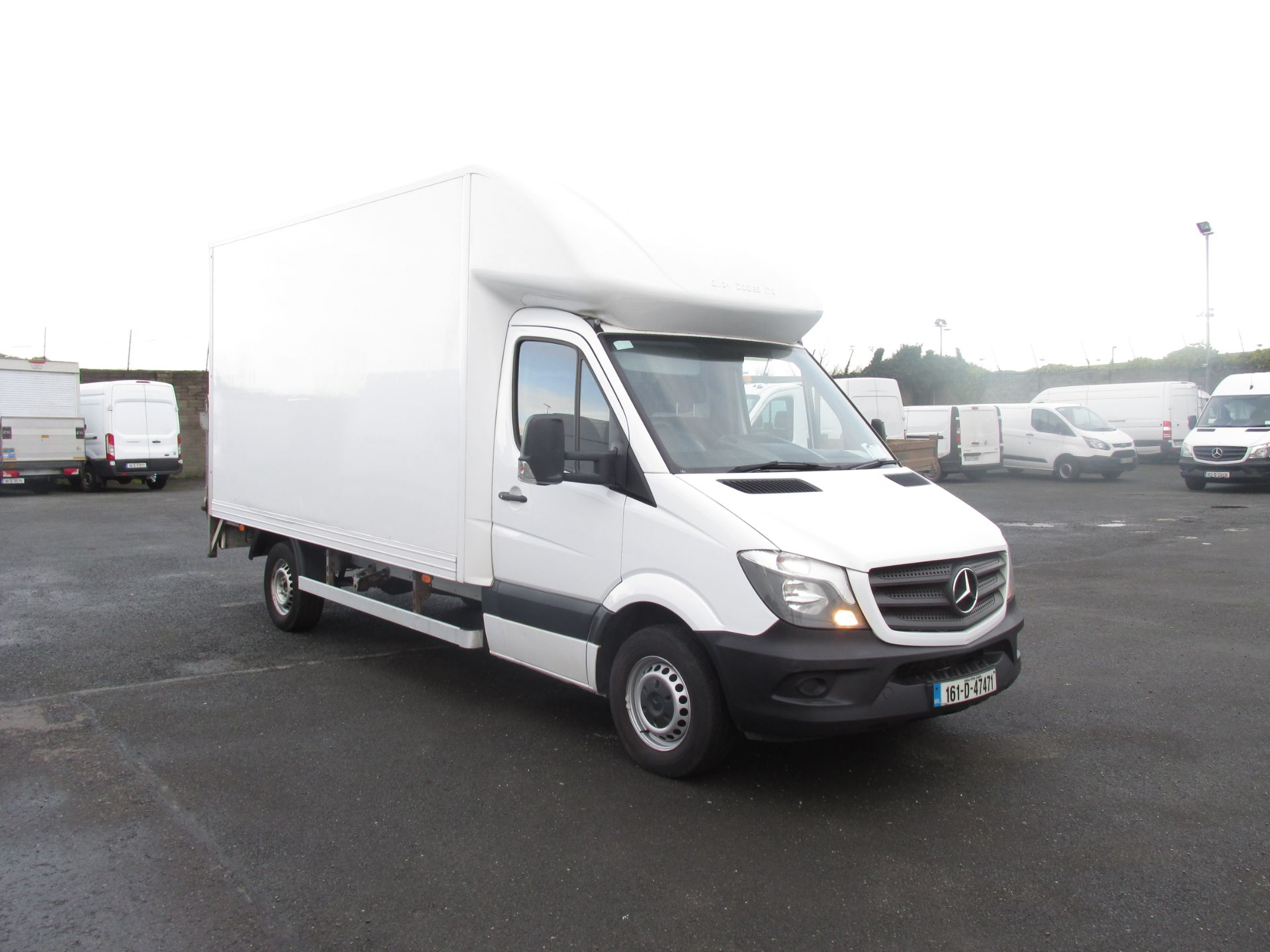 2016 Mercedes-Benz Sprinter 313 CDI Luton Body (161D47471)
